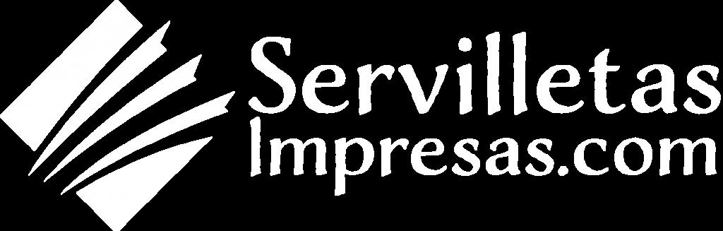 Servilletas Impresas horizontal blanco
